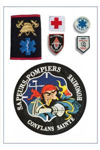 Ecussons Sapeurs Pompiers, Secouristes ...