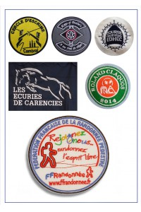 Ecussons Associations et clubs