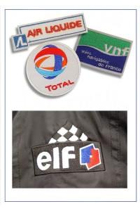 Ecussons logos d'entreprises