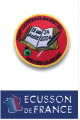 Ecussons brodés à coudre Scout et Guide personnalisé